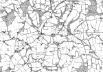 1880 Rudgwick, Bucks Green & Tismans Common, 1:10560