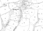 1912 Rudgwick Village1:2500