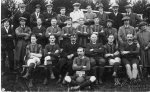 Rudgwick FC, the 1925 XI, for whicj we have all names, including Francis Crouch, Captain, and numerous non-players. Possible start date for the club:1915.