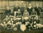 1933-4 football team was a winning team! all names known; captain T Hurst