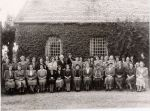 Rudgwick Women's Institute outside the Jubilee Hall, 1949. Many but not all names have been put to these faces