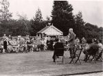 Col Frederick Gough MP for Horsham addresses Rudgwick Conservatives at Windacres, 1952. Windacres was then owned by N F Gossage Esq