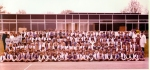 Rudgwick School centenery photo, at the new school in Tates Way, 1980 (should have been 1977!)