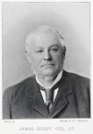 James Braby (1824-1907) of Maybanks, Cox Green, lived in Surrey but was Rudgwick man, lay rector, landowner, inventer, wheelwright, railway advocate, Surrey JP, first chairman RPC, village benefactor, lord of Drungewick manor