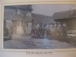 This picture of The Blue Ship Gun Club hangs in the pub