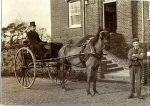 Frank Boxall's transport before he purchased a motor car