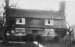 Exfoldwood was the cottage a shop first of the Borrer family and then of the Tuff family for many years in the C19th and early C20th