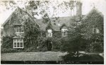 The Old Vicarage 1907 when Rev Ben Drury was still the long-standing vicar