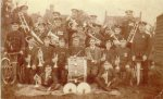 Rudgwick Silver Band first played in 1861, set up by Rev Thurlow of Baynards. The whole band enlisted in the Great War. Re-established after the war by G Barker of Gaskyns. Met in a band room behind Willow Cottage in Church St. John, William, Harold, & Charlie Tate were bandmasters until the end came in the late 1940s