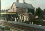 Rudgwick, an Edwardian  platform scene