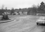 at the bottom of Station Rd, with Gaskyns Close houses much more visible than today, late 1960s