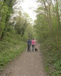 The Downs Link long-distance path is now a haven of tranquiity through the village